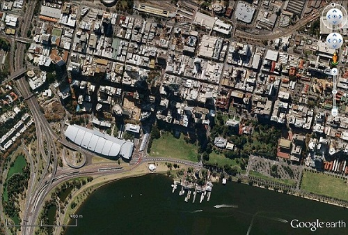 Above is The Esplanade Reserve, which was created in the 1890s as a 'permanent' recreational and community space