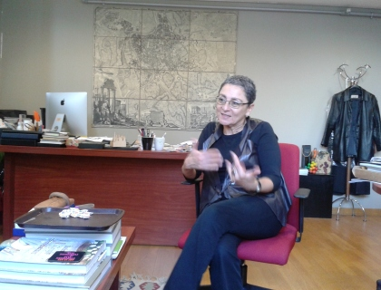 Professor Dr. Zuhal Ulusoy, Dean of the Faculty of Art and Design, Kadir Has University.