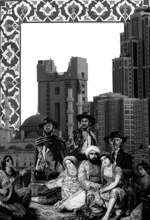 The Good, the Bad and the Ugly's anatolian version. Collage by Sinan Logie.