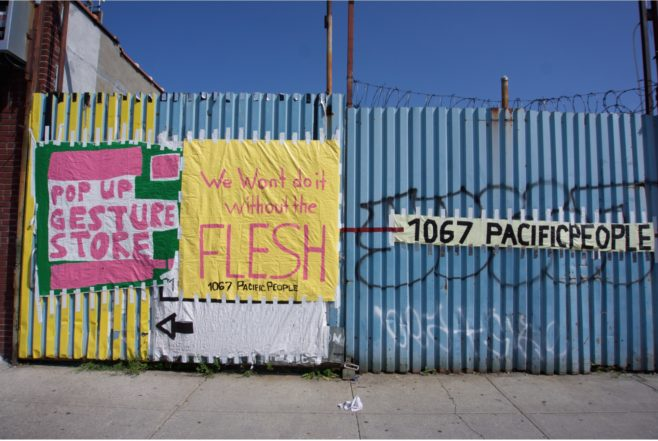 Gate at 1067 PacificPeople. (Image courtesy of 1067 PacificPeople).